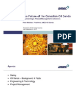 AMEC Future of Oilsands