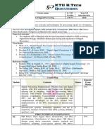 AE306 Digital Signal Processing