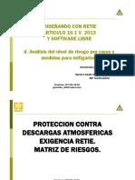 Punto D Retie Análisis Del Nivel de Riesgo Por Rayos y Medidas de Proteccion