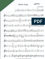 Sailors' Song - Violin I