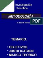 METODOLOGÍA DE INVESTIGACION