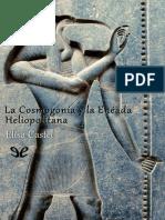Castel, Elisa - La Cosmogonia y la Eneada Heliopolitana [48927] (r1.0).epub