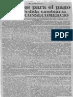 Edgard Romero Nava - 36 Meses Para El Pago de La Perdida Cambiaria Solicito Consecomercio - El Impulso 01.09.1989