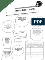 length maths trail outside