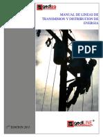 General Distribuidora s.a Manual de Lineas de Transmision y Distribucion de Energia. Line r Herrajes Para Líneas de Transmisión. 1 Era Edicion 2013 (1)