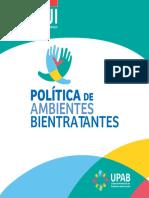 Politica de Ambientes Bientratantes