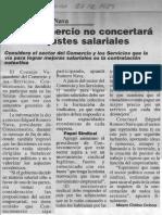 Edgard Romero Nava - Consecomercio No Concertara Futuros Ajustes Salariales - La Columna 27.12.1989