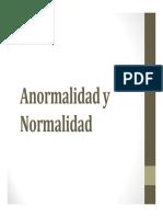 normalidad y anormalidad en psicología