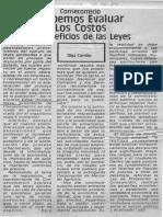 Edgard Romero Nava - Debemos Evaluar Los Costos y Beneficios de Las Leyes - La Voz de Guarenas 09.12.1989