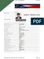 Sample Ds 160 Form Us Visa Application