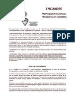 ENCUADRE Propiedad Intelectual, Franquicias y Licencias