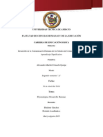 Paradigma Desarrollo Humano Alexandra Cunachi