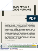 Pueblos Mayas y Derechos Humanos PDF