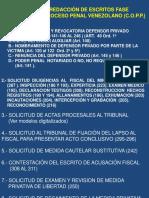 Láminas Taller Redaccion Escritos Fase Preparatoria Proceso Penal Venezolano