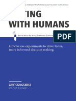 Testing With Humans - Nonprofit Edition