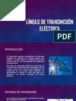 Líneas de Transmisión Eléctrica Ptt ormeño unica
