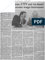 Edgard Romero Nava - Fedecamaras CTV Set to Meet Today to Discuss Wage Increases - The Daily Journal 07.12.1989