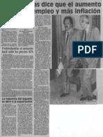 Edgard Romero Nava - Fedecamaras Dice Que El Aumento Traera Desempleo y Mas Inflacion - 1989