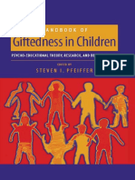 Handbook of Giftedness Childrens
