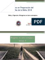 Peregrinos en Tierra Extranjera Semana 4 Mes de La Biblia 2018