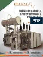 Catalogo de Transformadores de Distribucion y Potencia en Aceite