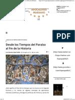 Apocalipsis Mariano - Desde Los Tiempos Del Paraíso Al Fin de La Historia
