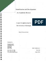 Talent Identification - Academicreviewpdf