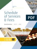 ALS Geochemistry Fee Schedule USD (1)