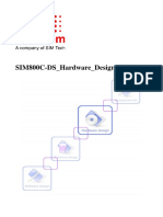 SIM800C-DS Hardware Design V1.01