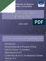 Historia Clinica Medicina Familiar