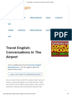 Travel English_ Conversations in the Airport – Espresso English