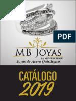 Catalogo Acero Quirurgico2019