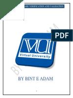 CS608SoftwareVerificationandValidationuni.pdf