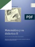 Cuadernillo Matemática y Su Didáctica II - 2016