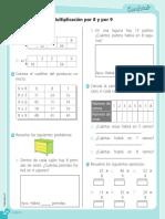 Ficha Multiplicacion Segundo Grado