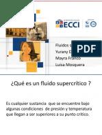fluidos supercriticos exposición
