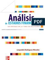 Analisis de Estados Financieros