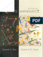 Kenneth a. Ross, Charles R. Wright - Discrete Mathematics (2002, Prentice Hall)