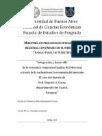 Integración y Desarrollo de la Economía Campesina del Mercosur