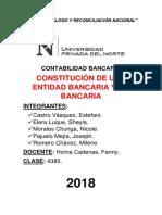 Constitución Bancaria