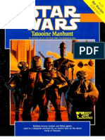 WEG40005 - Star Wars D6 - Tatooine Manhunt