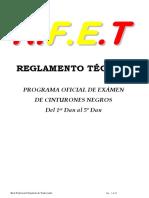 Reglamento Examen de 1º Al 5º Dan. 15-01-2016 Ok. (1)
