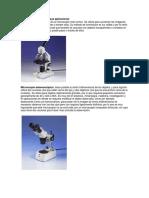 Tipos de Microscopios y Sus Aplicaciones