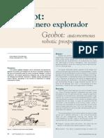 Geobot – Robot Minero Explorador (Luis Orna Berrospi - Minera Yanacocha) 000-660-002-006