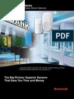 Commercial Hardwired Indoor Motion Detectors Dealer Brochure