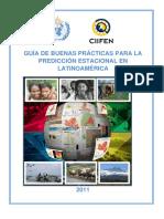 Guía de Buenas Prácticas en Pronóstico Estacional-Latinoamérica