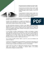 El Ajusticiamiento de Rafael Leonada Trujillo