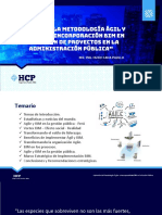 Ponencia Impacto de La Metodologia Agil y Proceso de Incorporación BIM en La Gestión de Proyectos en La Administración Pública