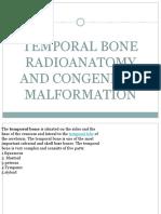 Temporal Bone Radioantomy