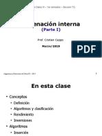 2019 03 20 Ordenacion Interna 1 Diapositivas